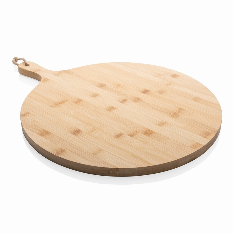 Bambusowa deska do krojenia, serwowania, okrągła