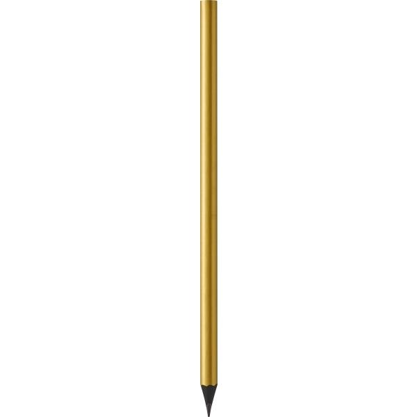 Ołówek lakierowany złoty