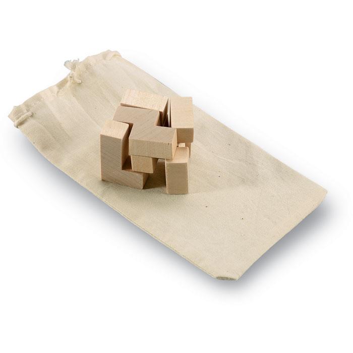 Drewniana układanka Trikesnats