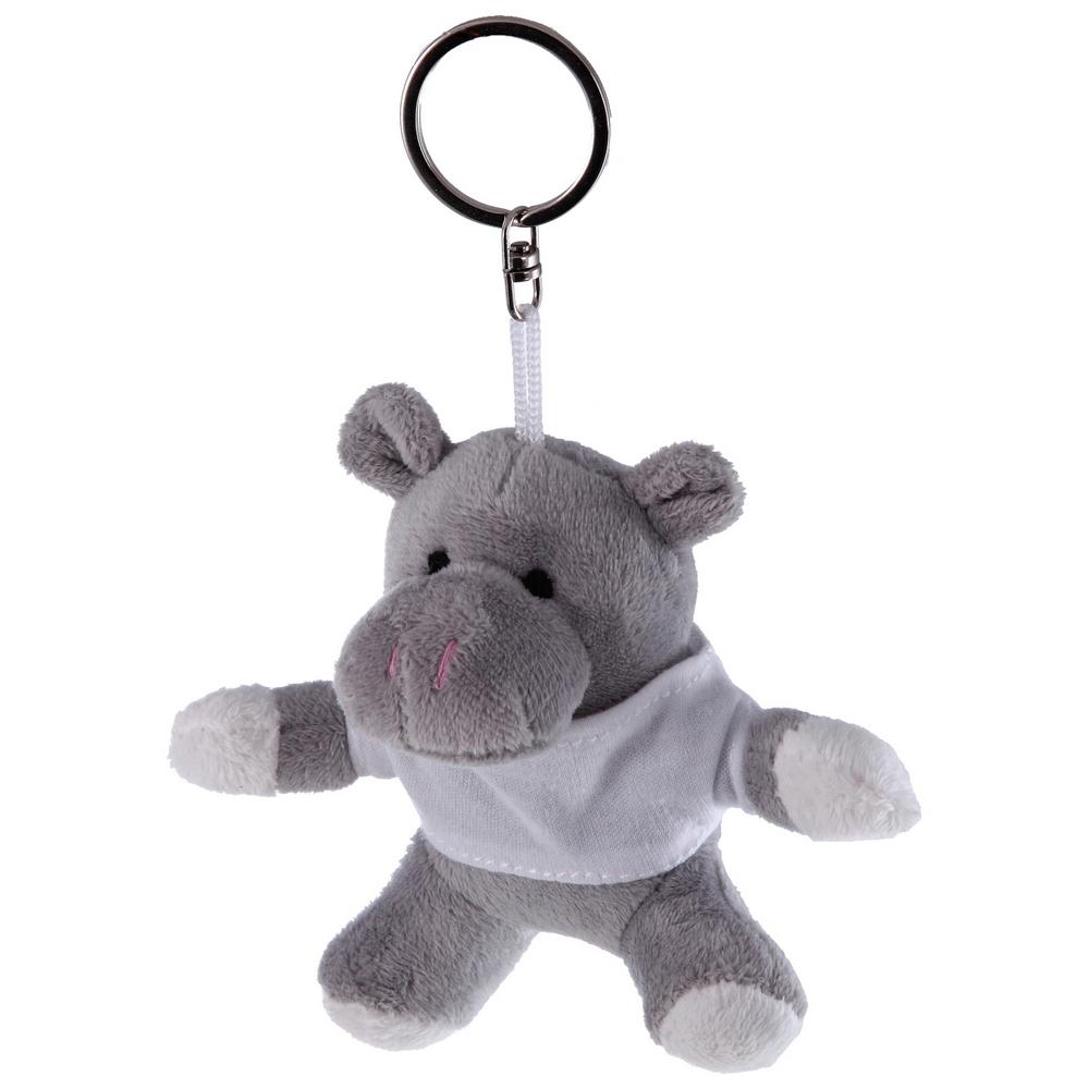 Pluszowy hipopotam, brelok   Iggy