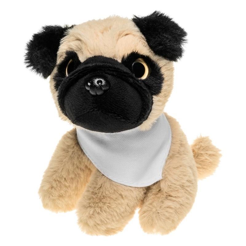 Pluszowy pies mops   Aksel