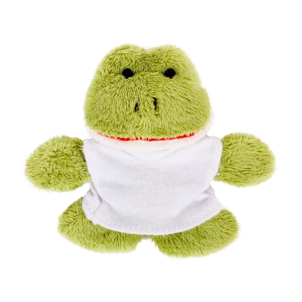 Pluszowa żaba, magnes   Hoppy
