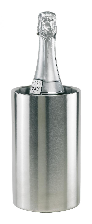 Pojemnik do schładzania butelek, MOSCOW, srebrny
