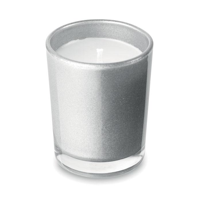 Mała świeczka w szkle
