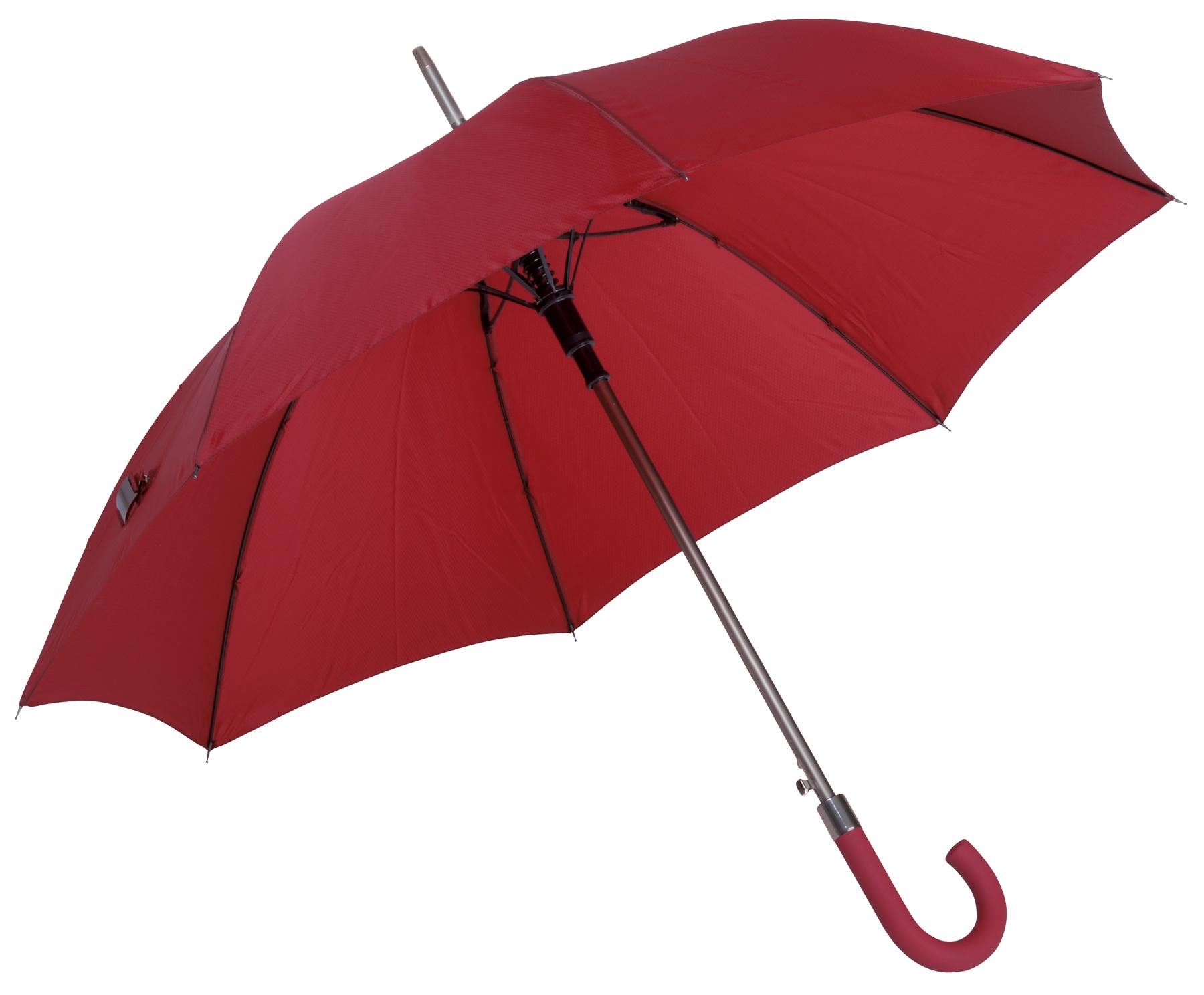 Automatyczny parasol JUBILEE, ciemnoczerwony