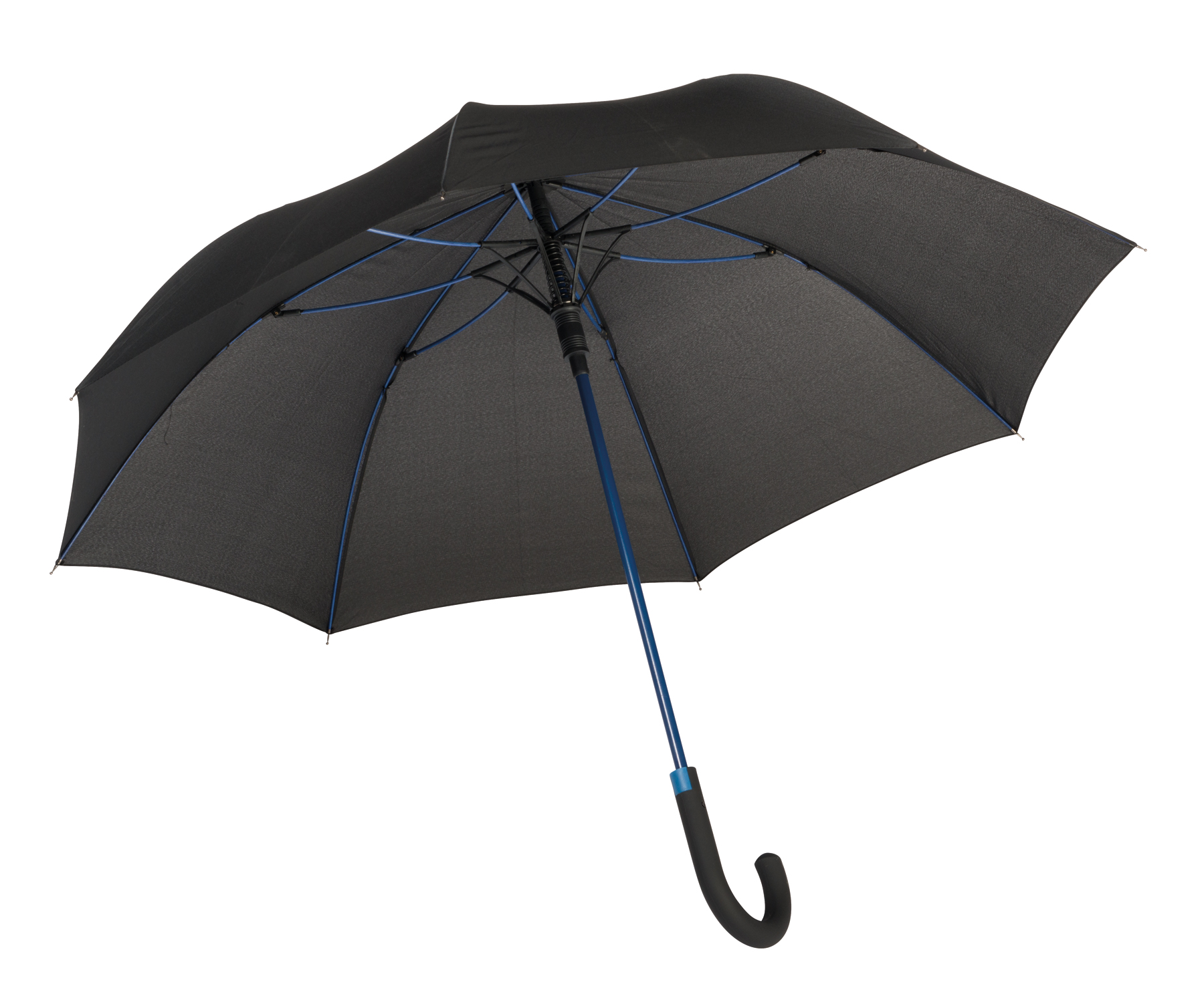 Parasol automatyczny CANCAN, czarny, niebieski