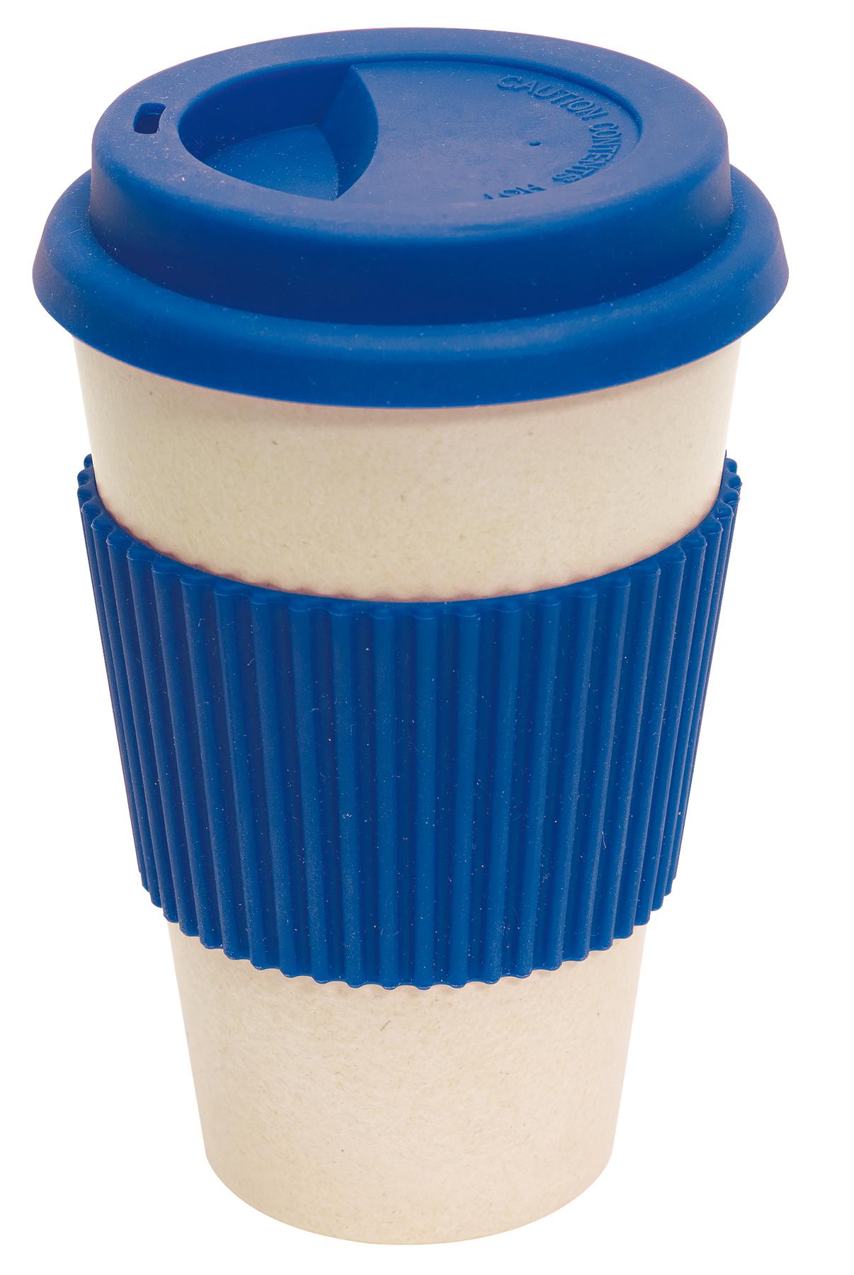 Kubek bambusowy ECO CUP, niebieski