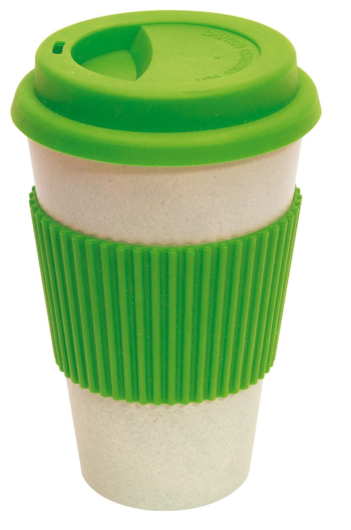 Kubek bambusowy ECO CUP, zielone jabłko
