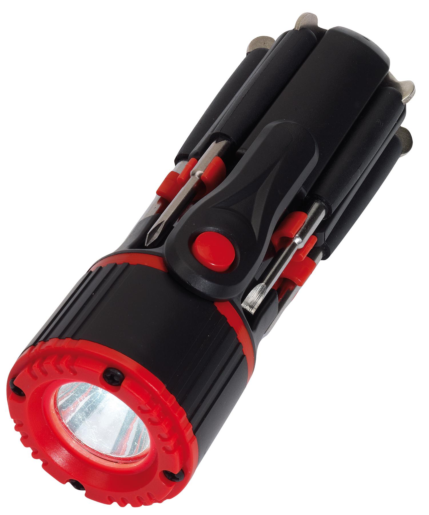 Zestaw śrubokrętów 8IN1, czarny, czerwony
