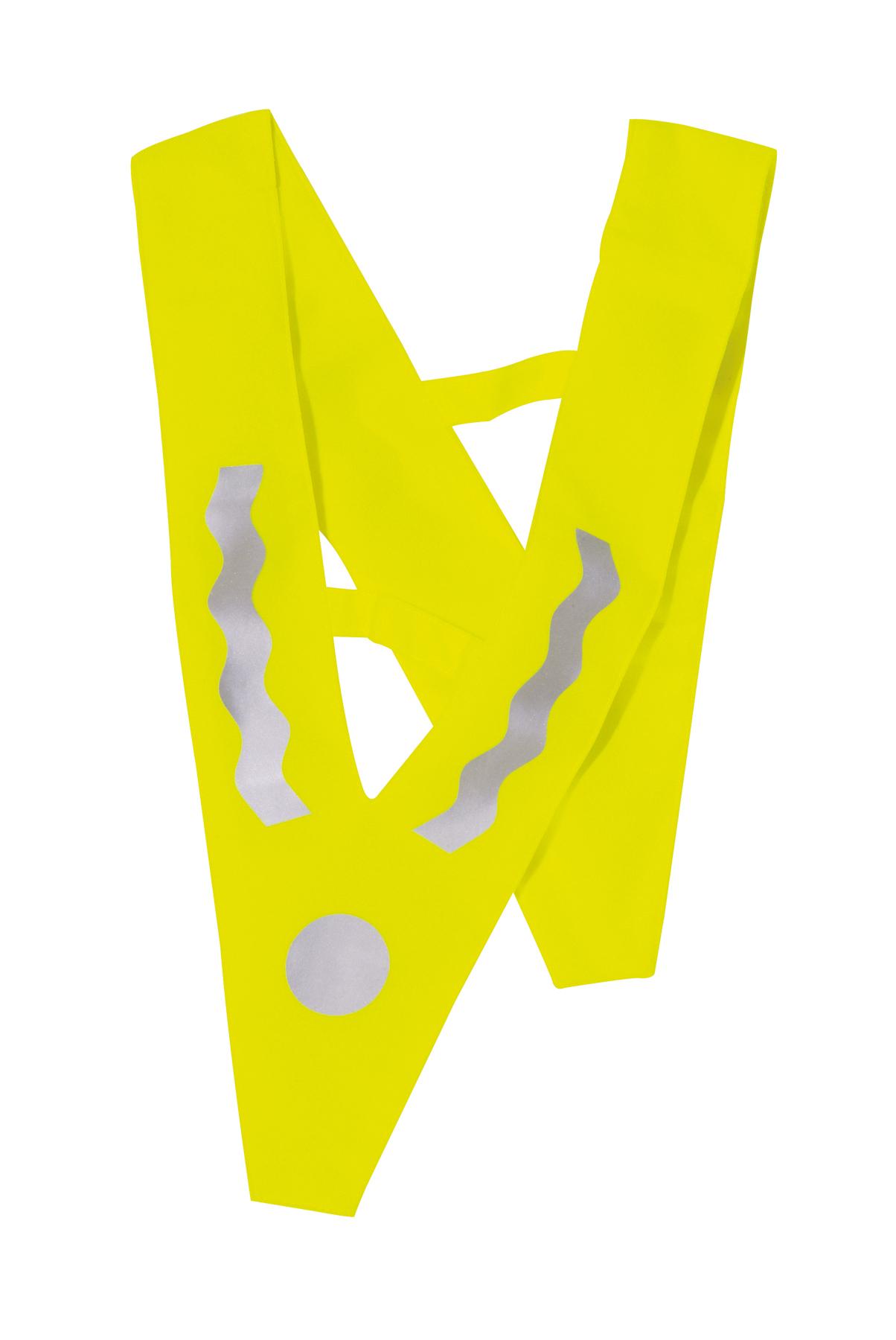 Kamizelka odblaskowa dla dzieci VICTORY, srebrny, żółty