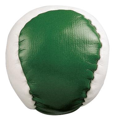 Piłeczka antystresowa JUGGLE, biały, zielony