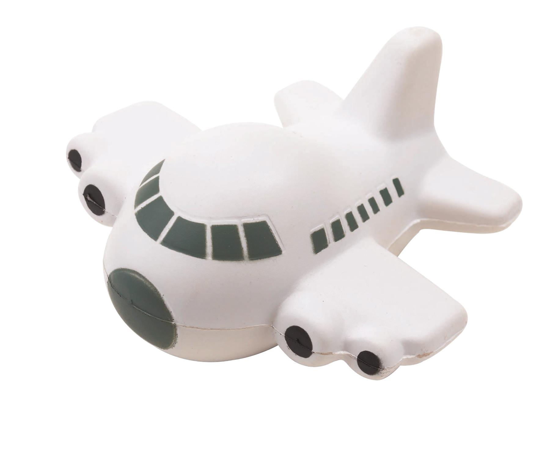 Samolot antystresowy TAKE OFF, biały, szary