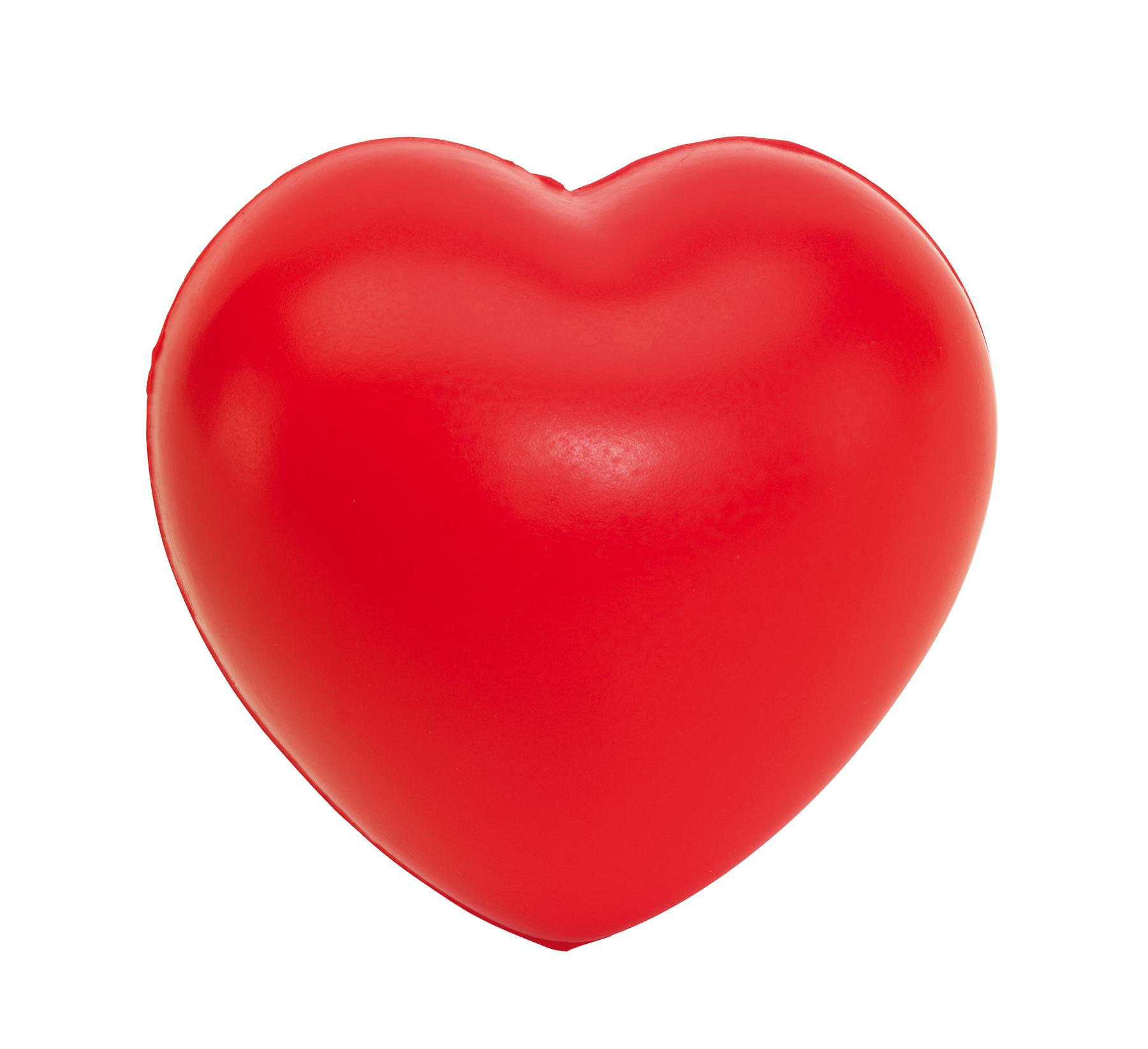 Serce antystresowe AMOR, czerwony