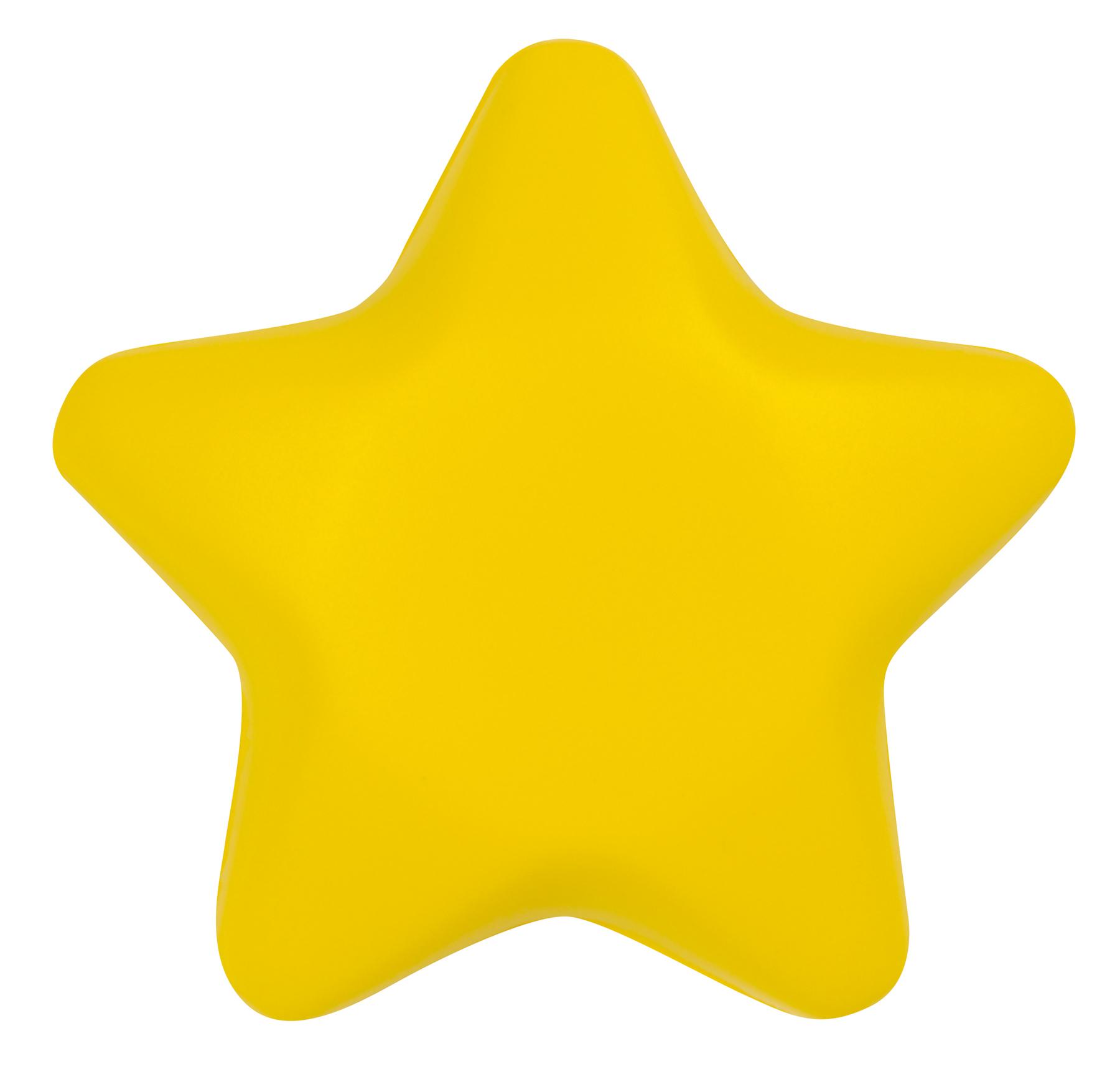 Gwiazda antystresowa STARLET, żółty
