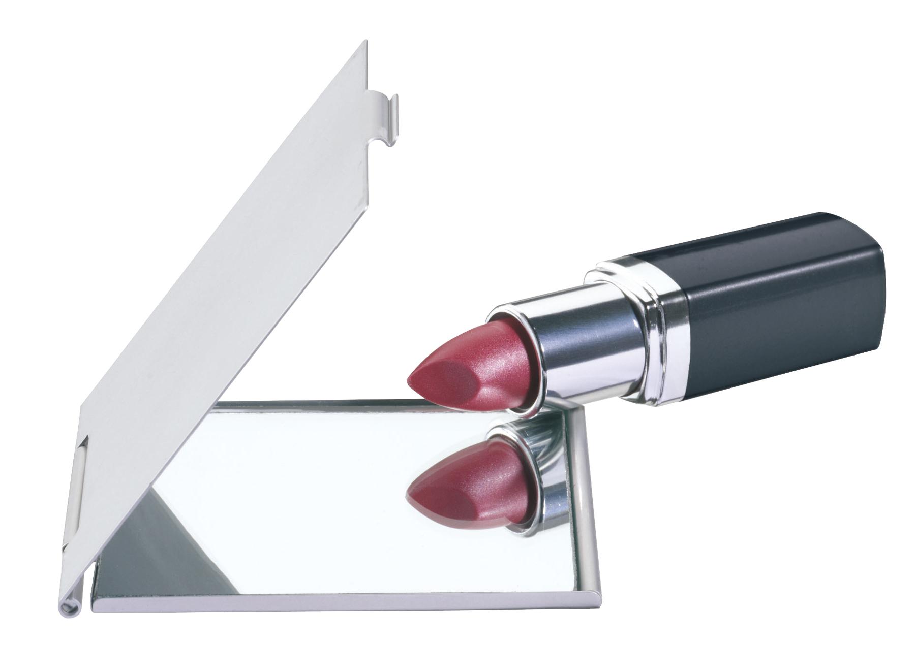 Lusterko aluminiowe DONNA, srebrny