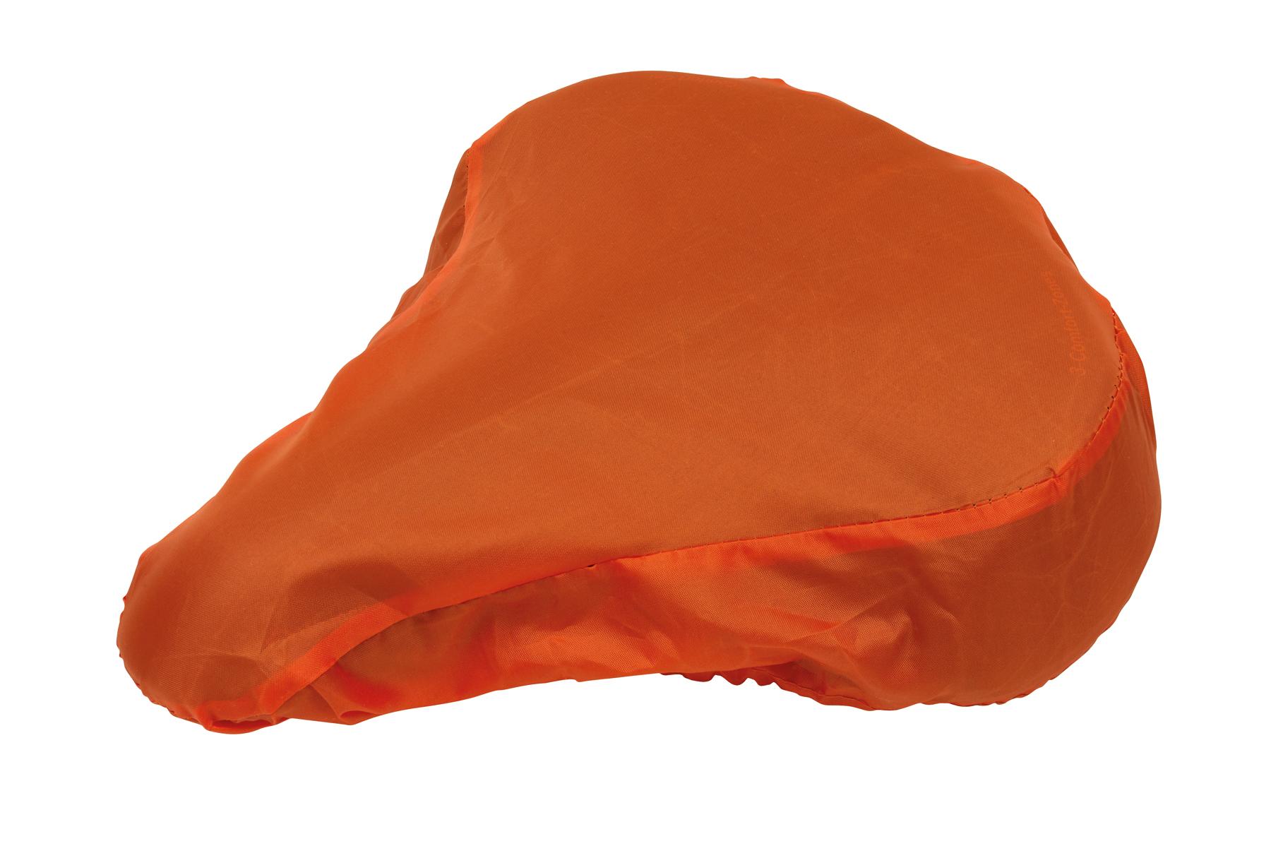 Pokrowiec na siodełko rowerowe DRY SEAT, pomarańczowy