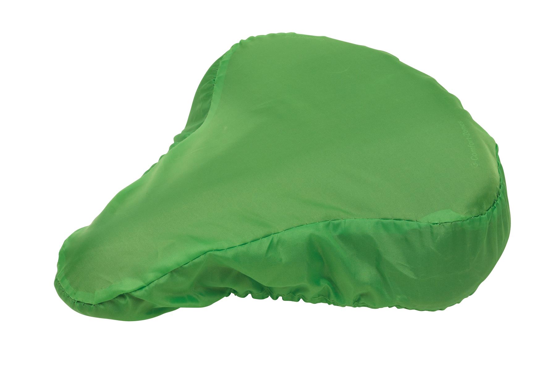 Pokrowiec na siodełko rowerowe DRY SEAT, zielony