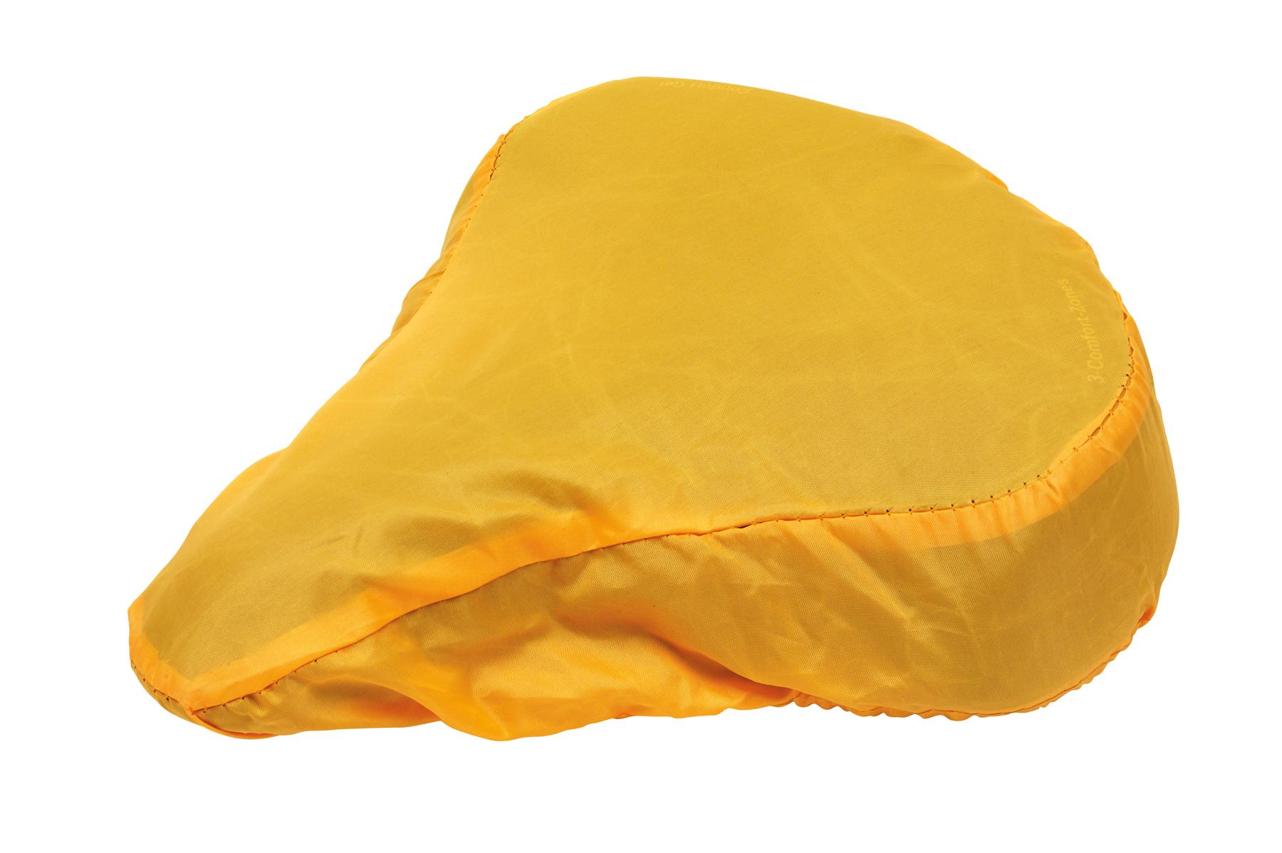 Pokrowiec na siodełko rowerowe DRY SEAT, żółty
