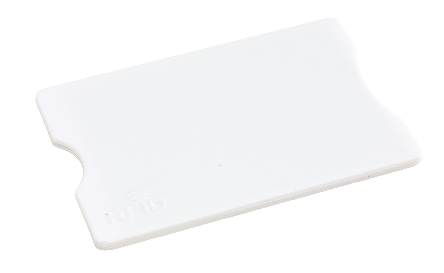 Etui na kartę kredytową PROTECTOR, biały
