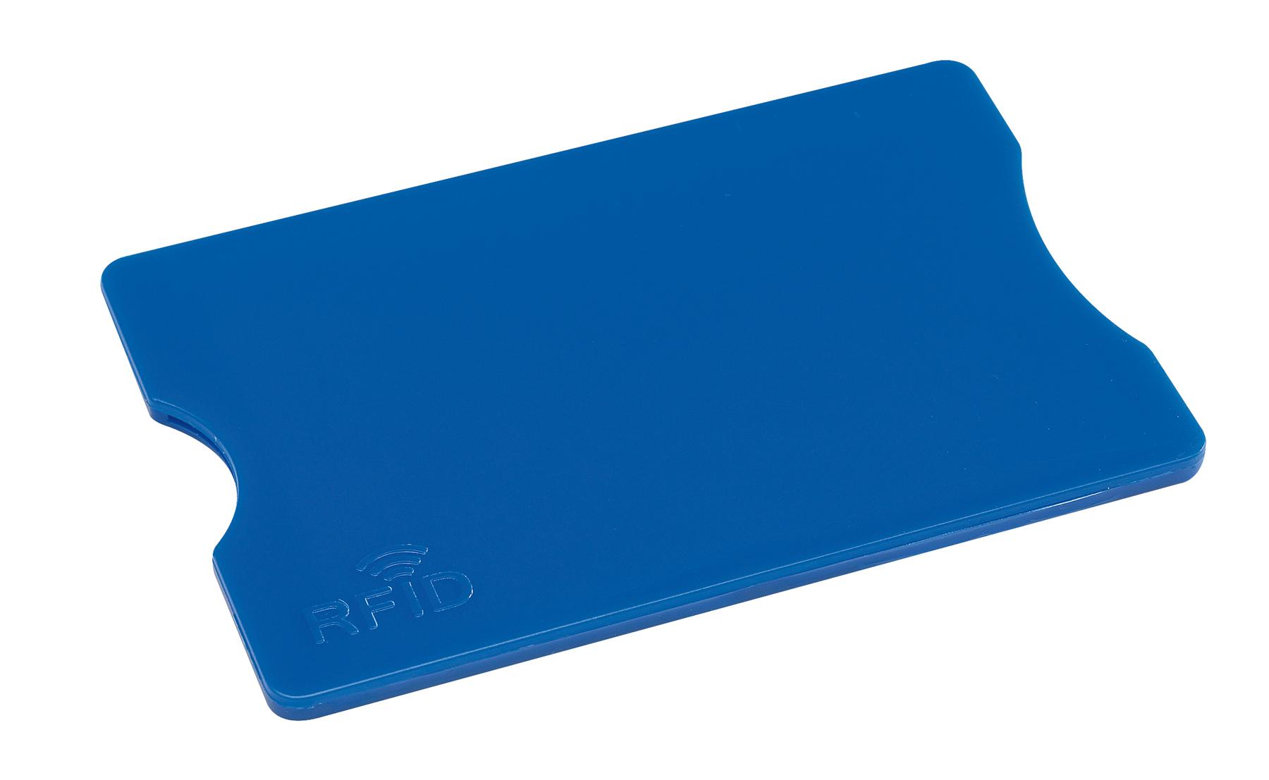 Etui na kartę kredytową PROTECTOR, niebieski