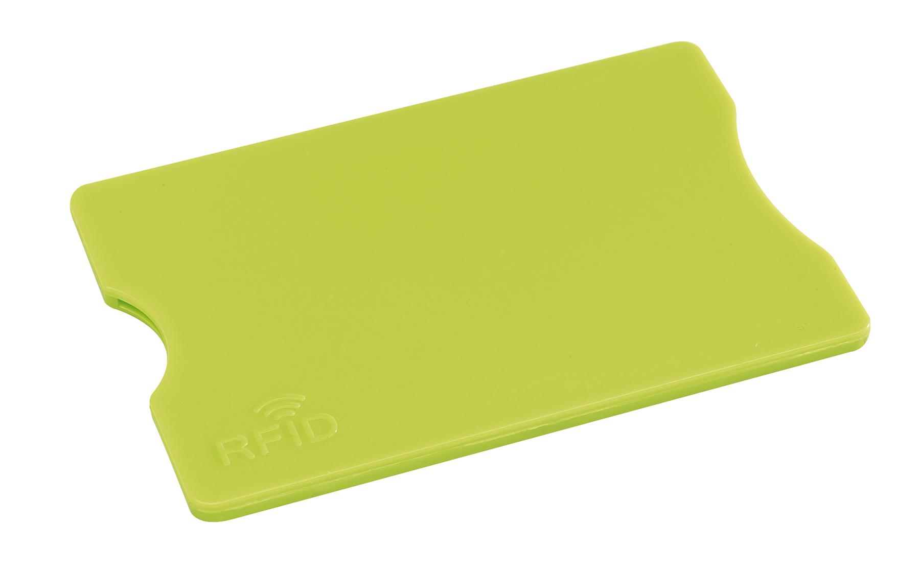 Etui na kartę kredytową PROTECTOR, zielone jabłko