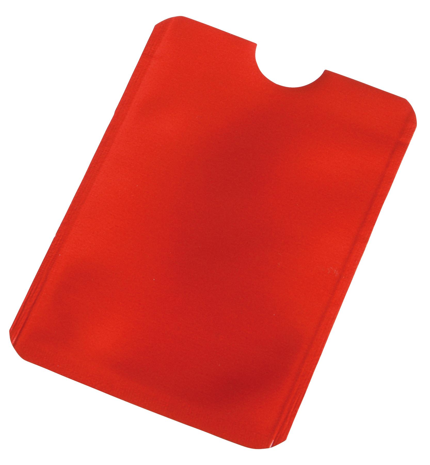 Etui na karty kredytowe EASY PROTECT, czerwony