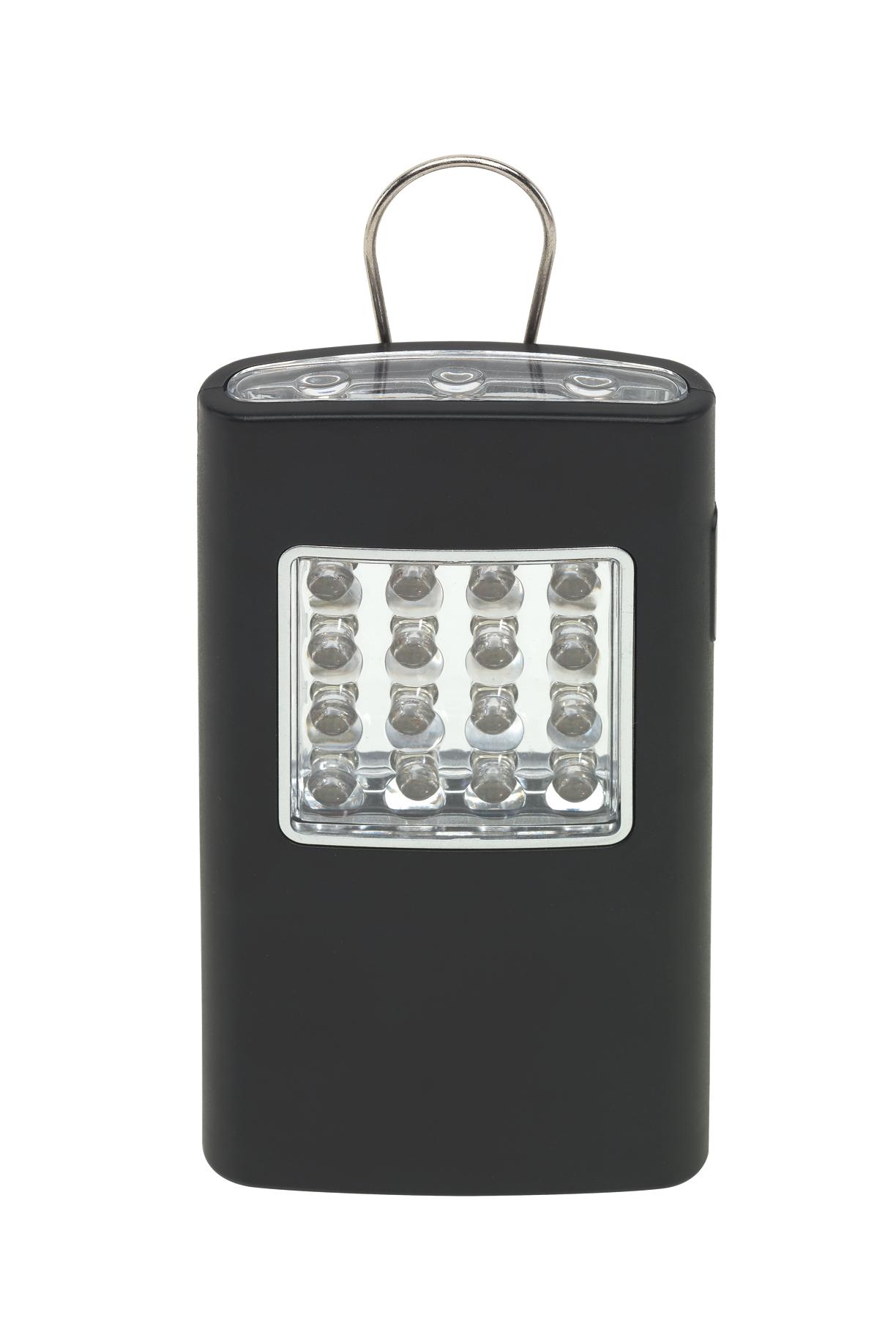 Latarka LED BRIGHT HELPER, czarny