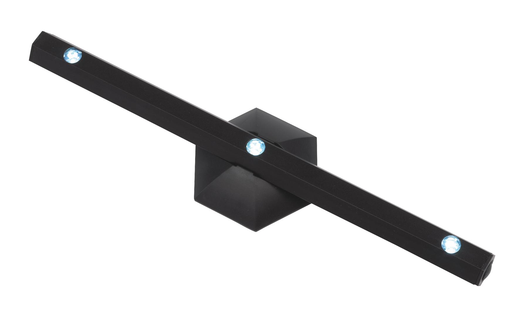 Lampka LED 3 diody Led, czarny