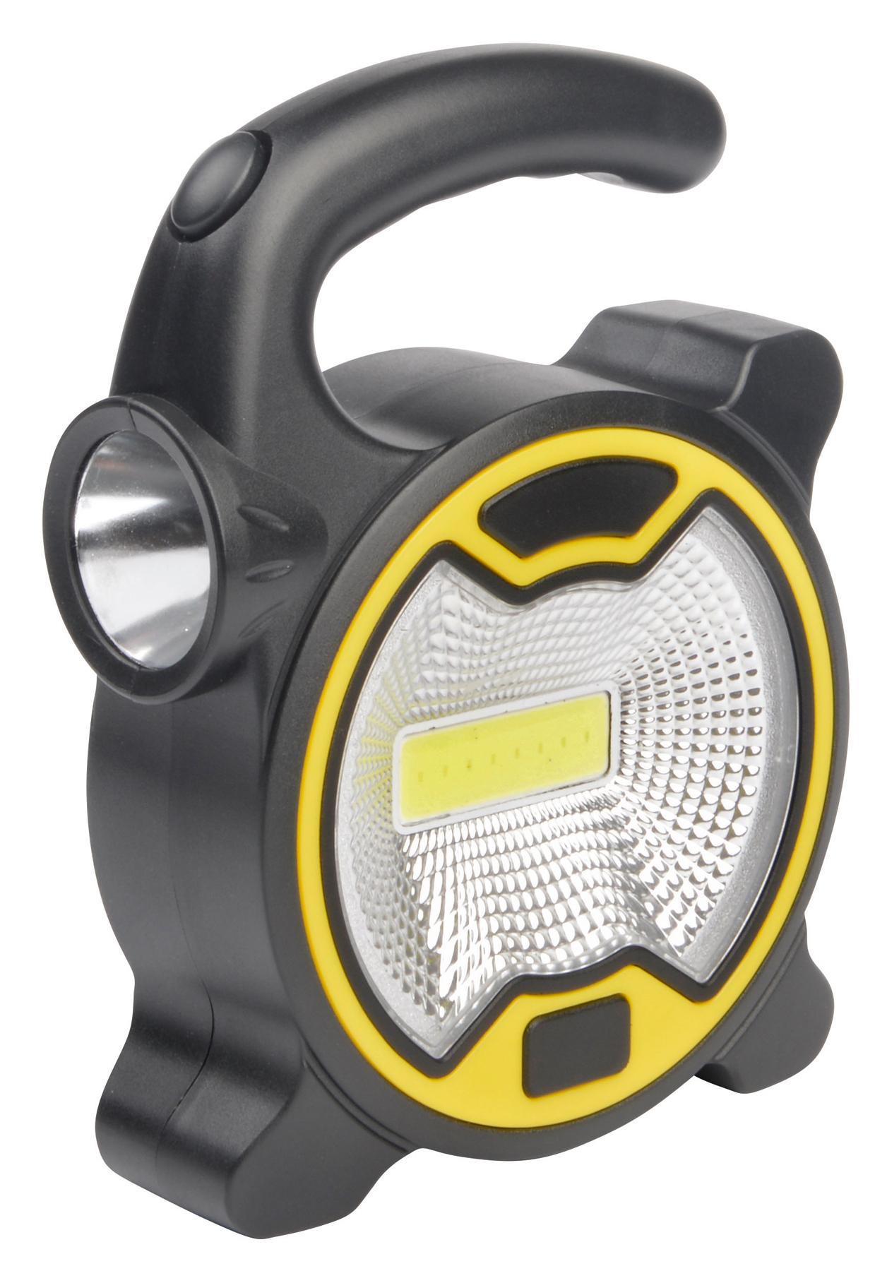 Lampa robocza DO IT YOURSELF., czarny, żółty