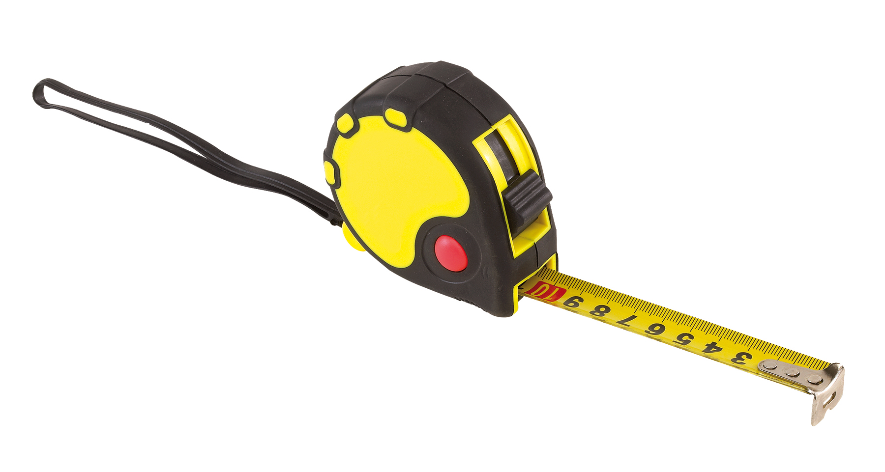 Taśma miernicza 5m BASIC II, czarny, żółty