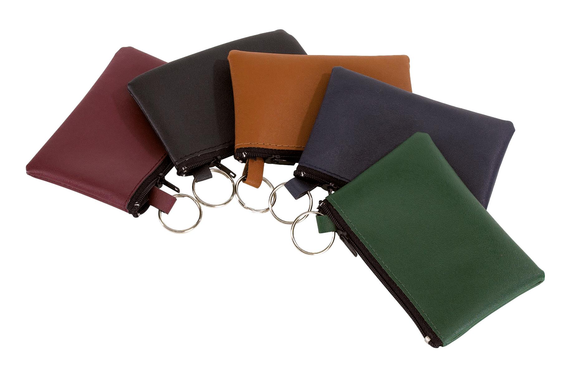 Sakiewka na klucze HOME, brązowy, czarny, czerwony, niebieski, zielony