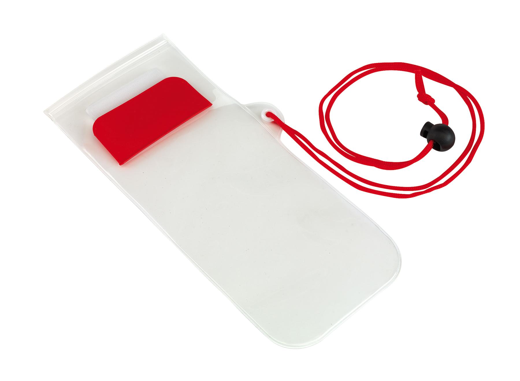 Torebka na telefon SMART SPLASH, czerwony