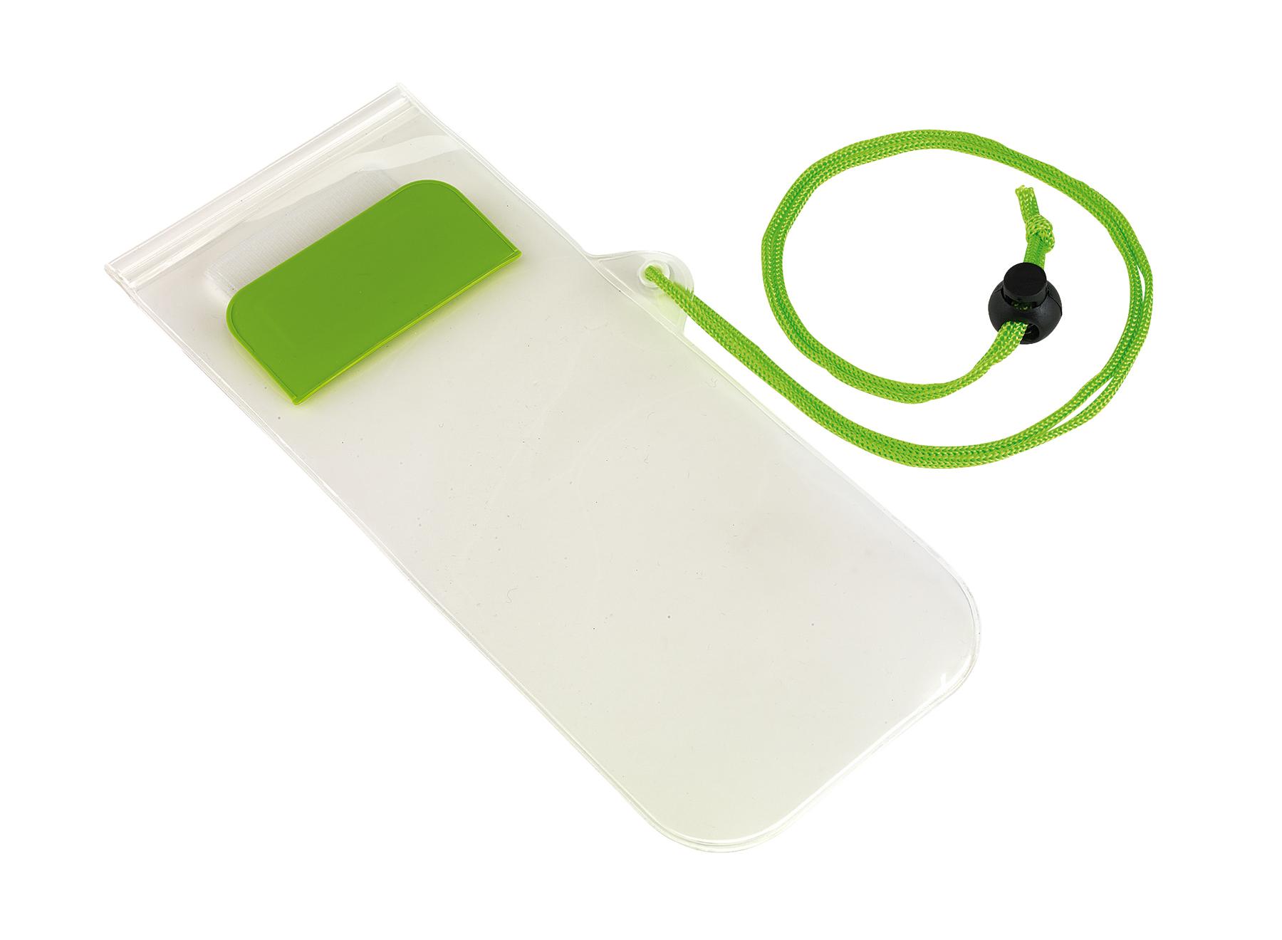 Torebka na telefon SMART SPLASH, zielone jabłko