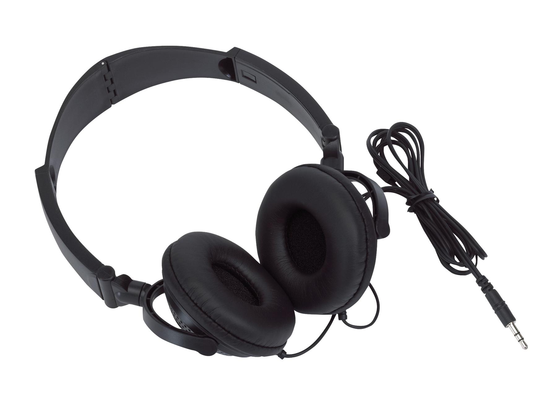 Słuchawki ROCKER, czarny