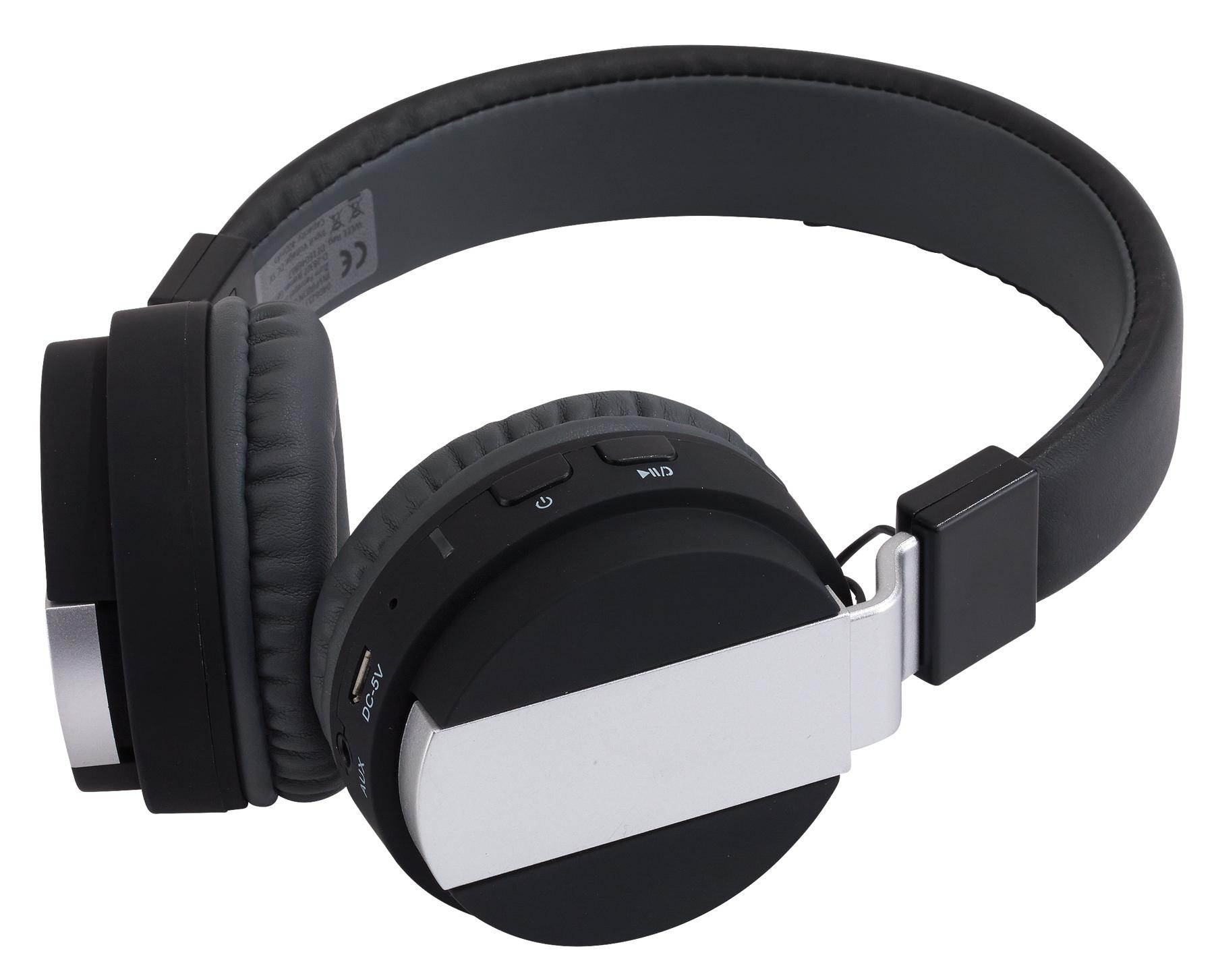 Słuchawki Bluetooth FREE MUSIC, czarny