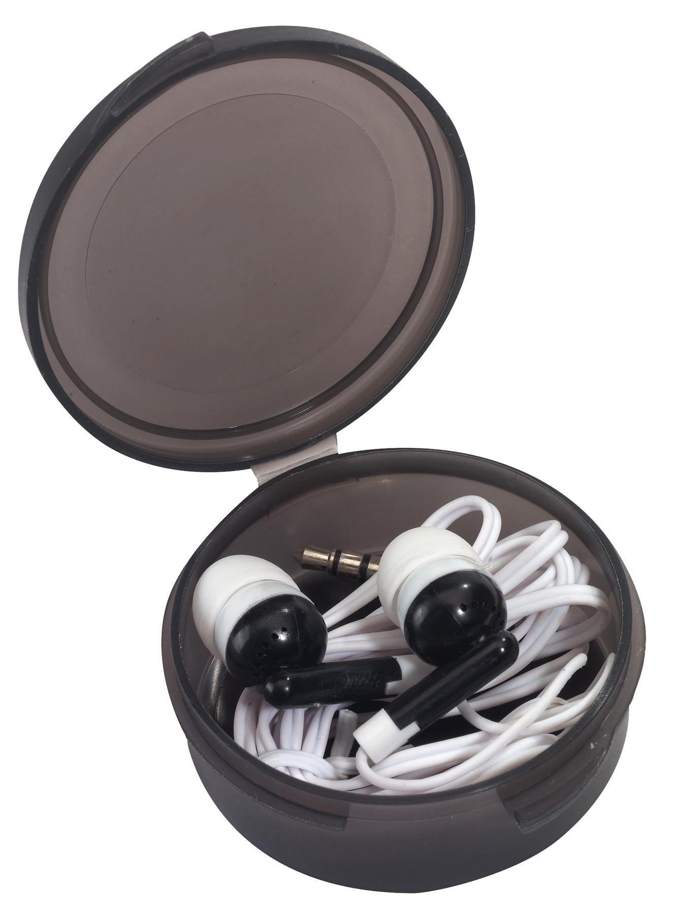 Słuchawki douszne MUSIC, czarny
