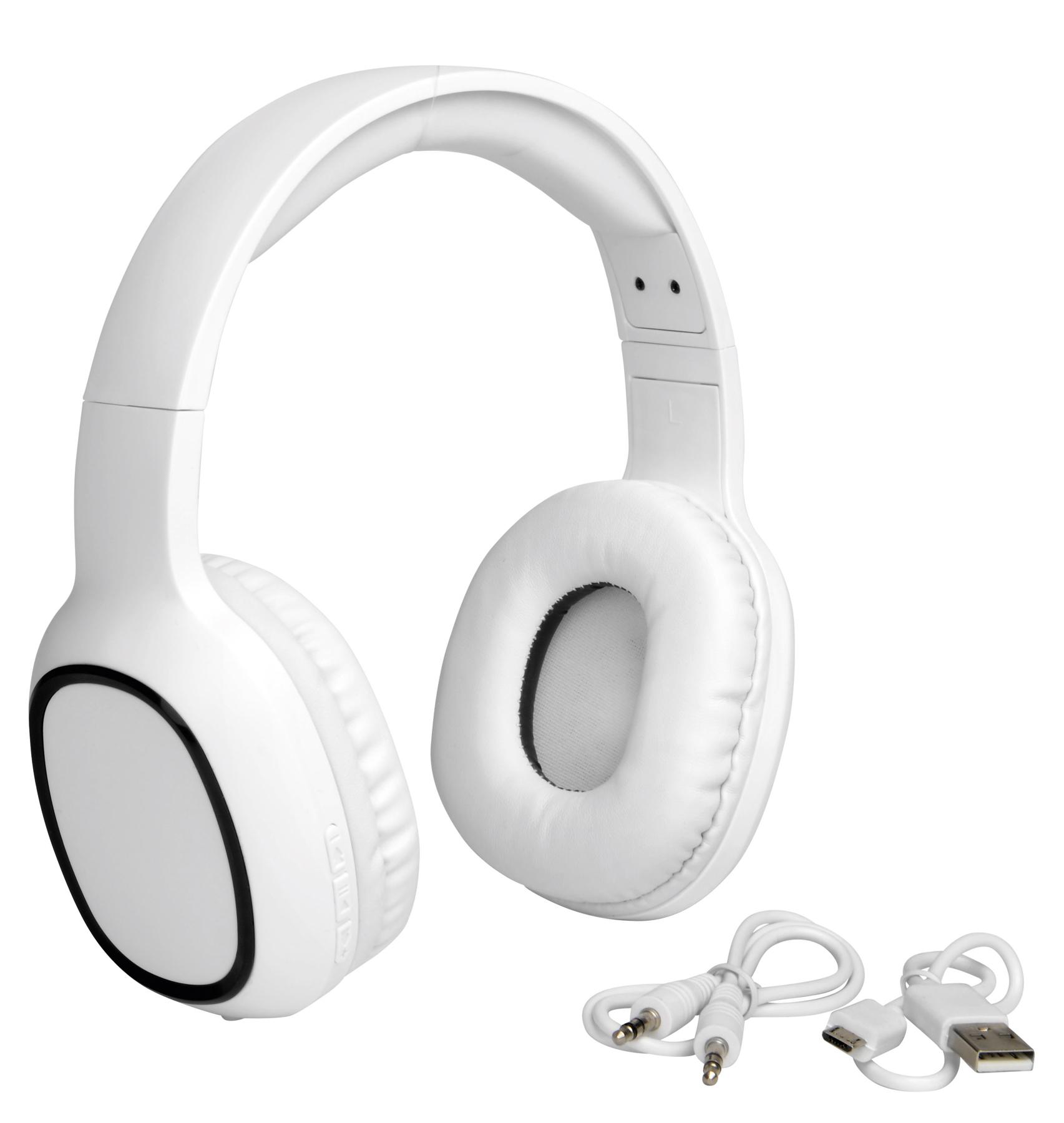 Słuchawki bezprzewodowe INDEPENDENCE., biały