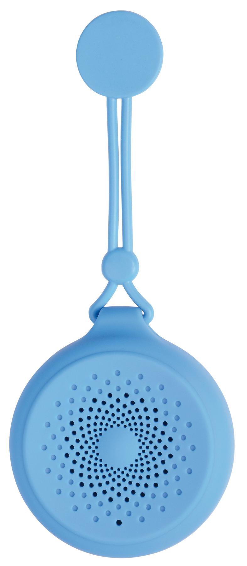 Głośnik Bluetooth SHOWER POWER, niebieski