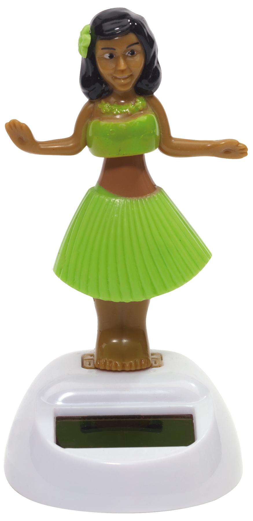 Figurka solarna HALUNA, zielony