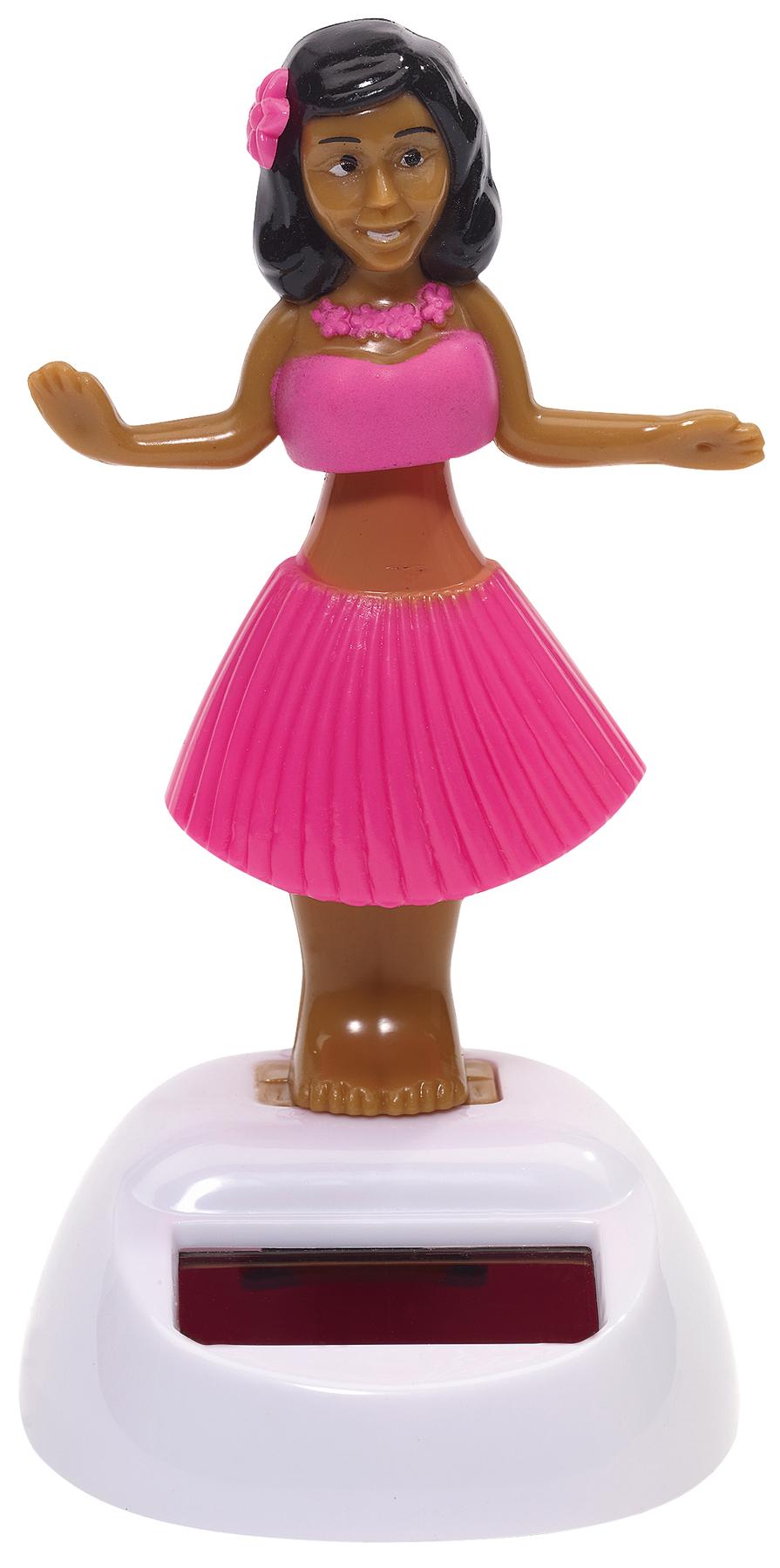 Figurka solarna HALUNA, różowy