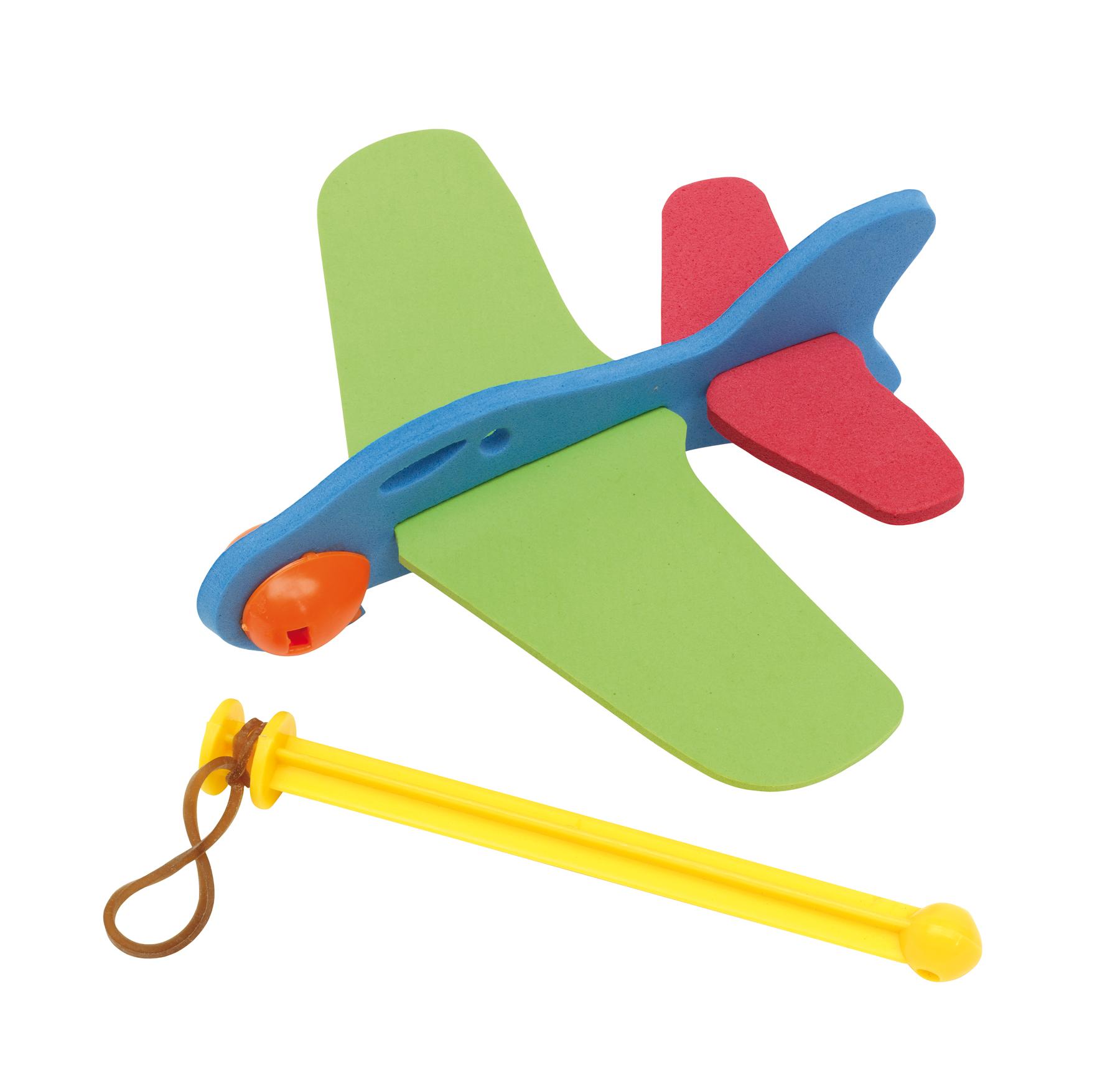 Samolot SKY HOPPER, czerwony, niebieski, zielony