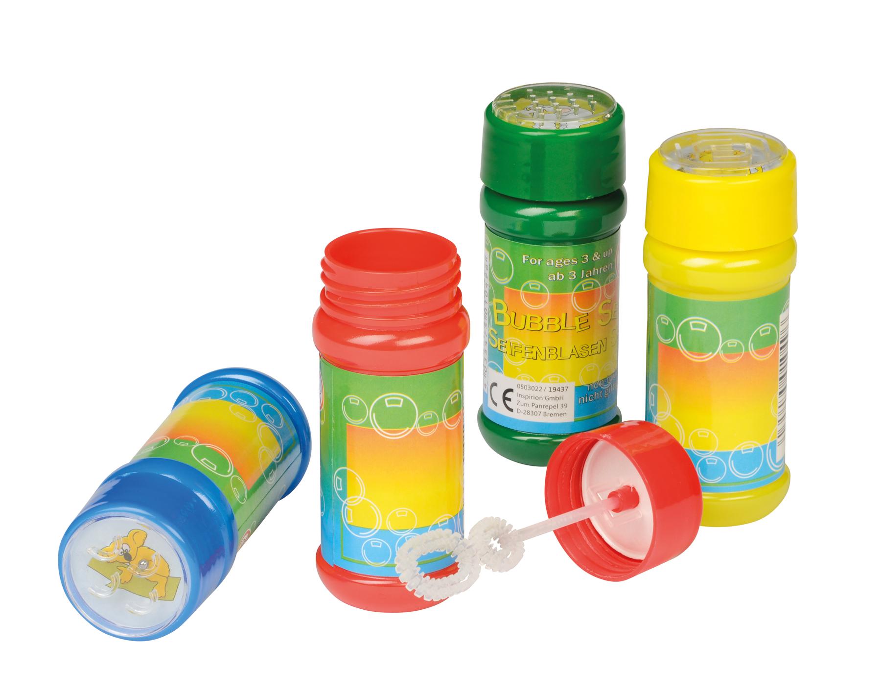 Bańki mydlane AIR BUBBLE, czerwony, niebieski, zielony, żółty