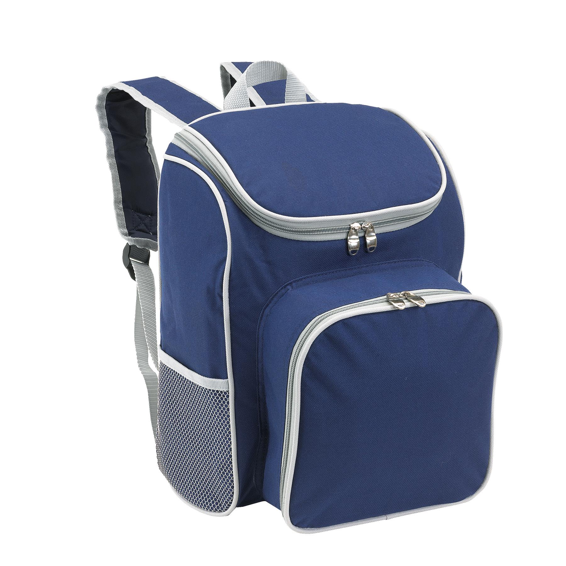 Plecak piknikowy OUTSIDE, niebieski, szary