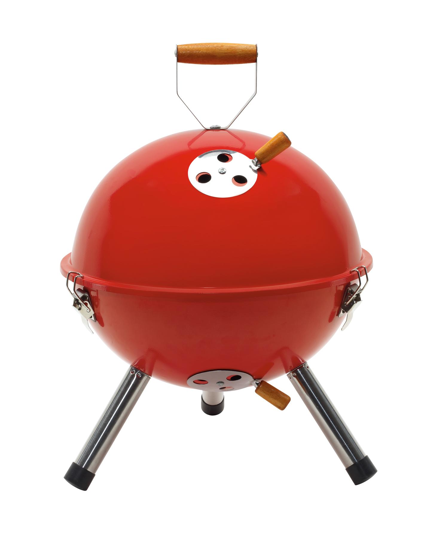 Grill COOKOUT, czerwony