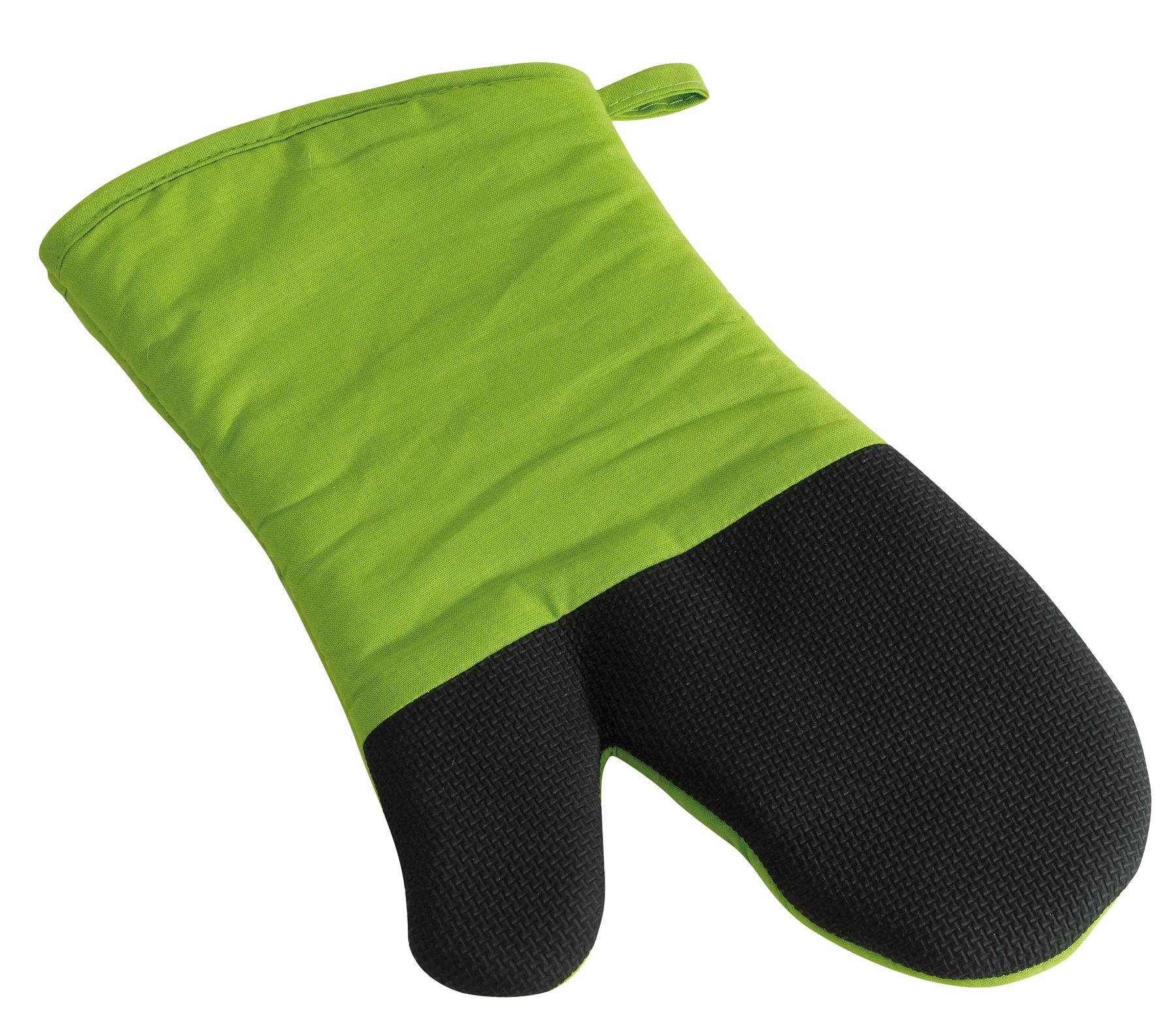 Rękawica grillowa STAY COOL, czarny, jasnozielony