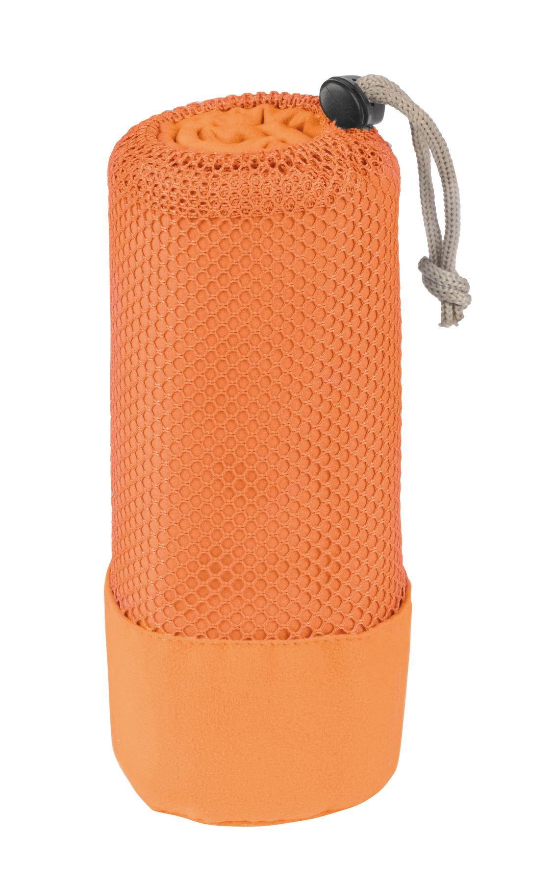 Ręcznik z mikrofibry FRESHNESS, pomarańczowy