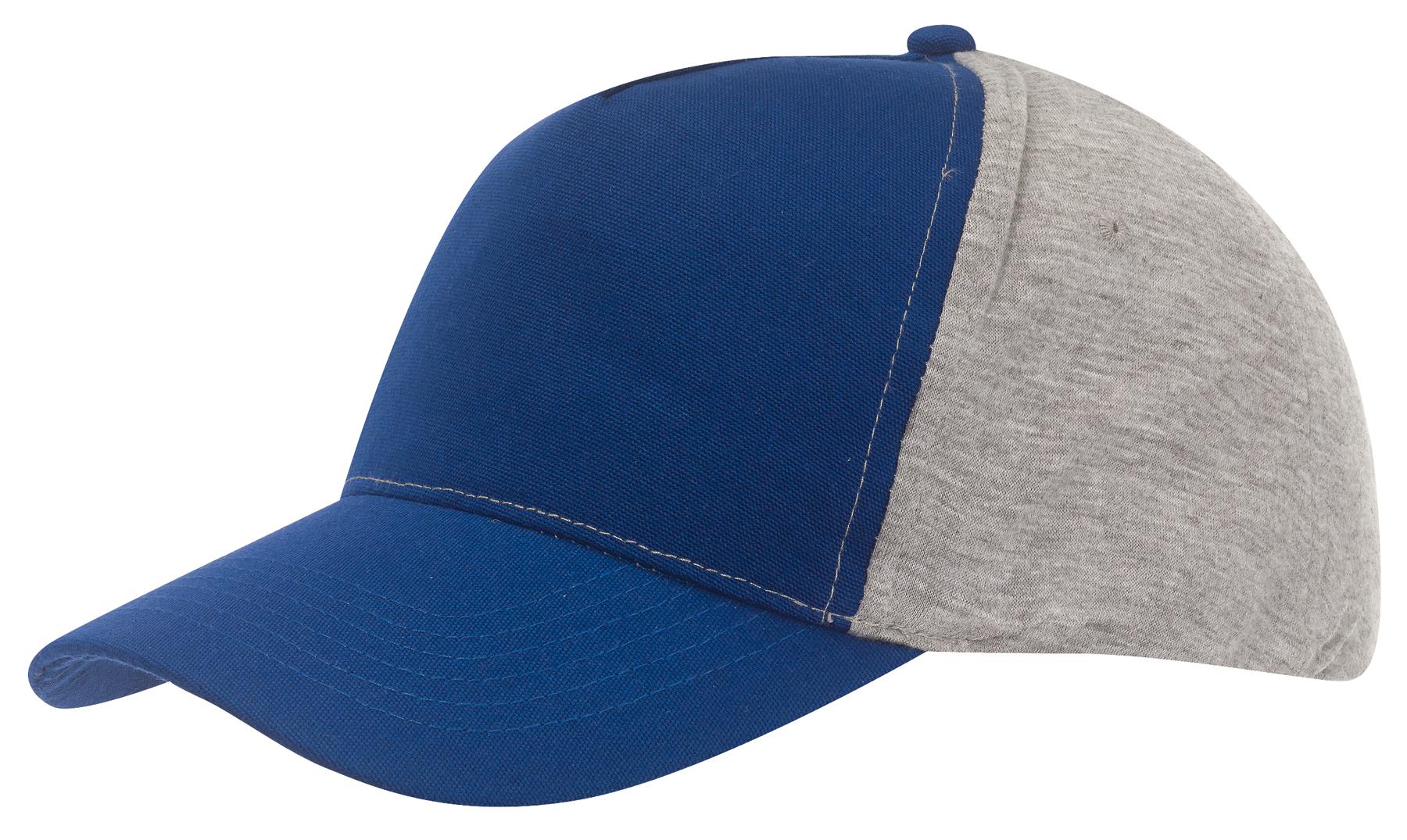 Czapka baseball UP TO DATE, niebieski, szary