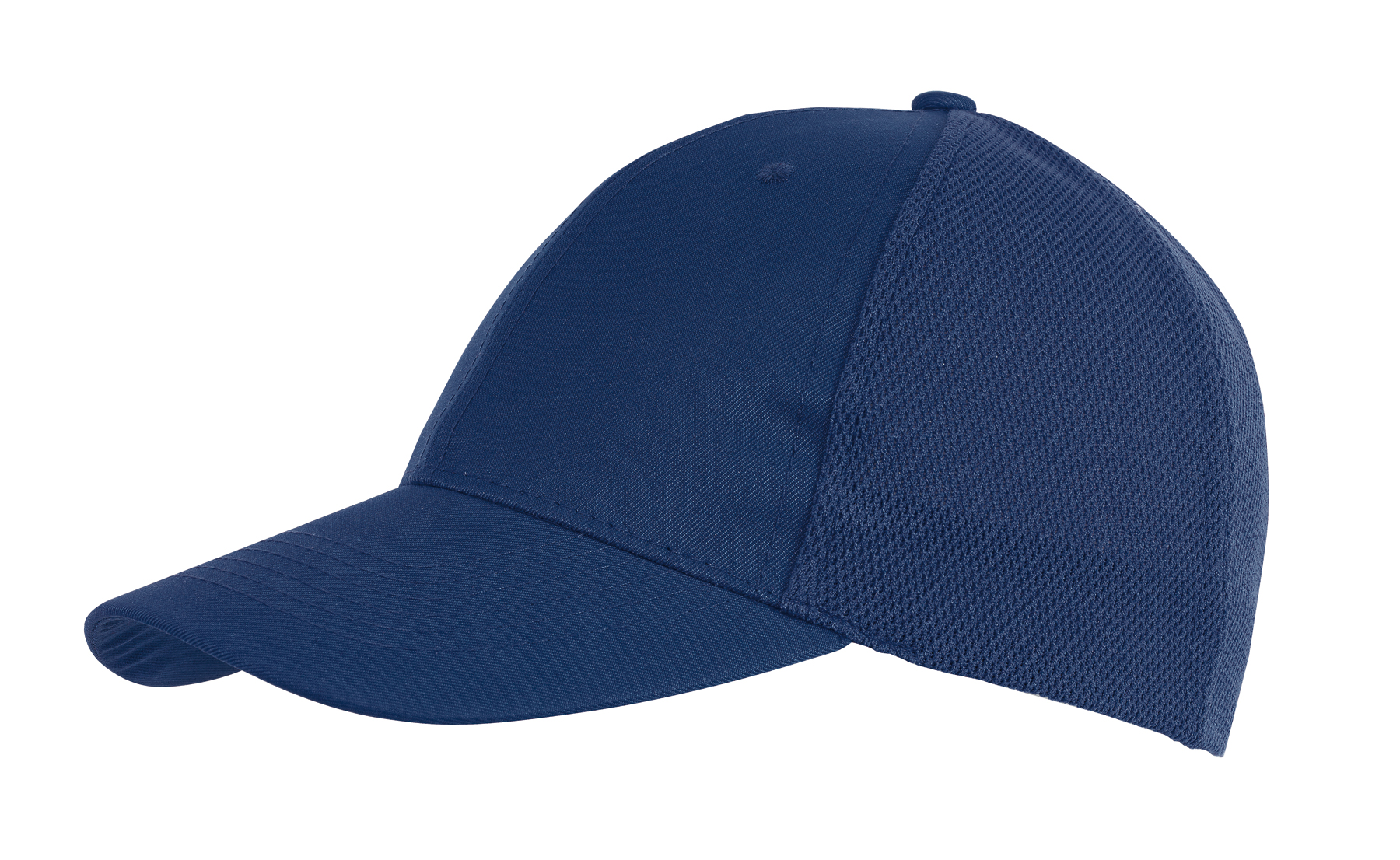 6 segmentowa czapka PITCHER, ciemnoniebieski