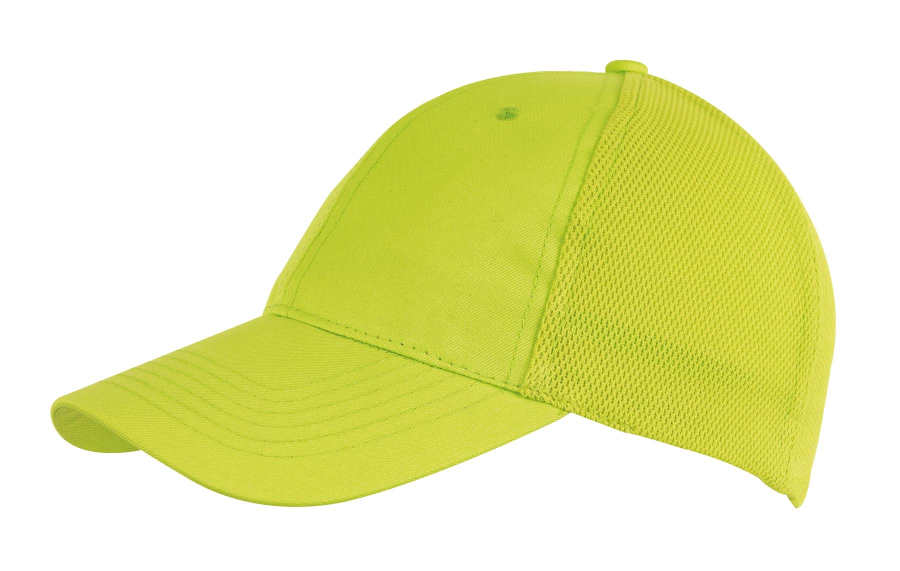 6 segmentowa czapka PITCHER, zielone jabłko