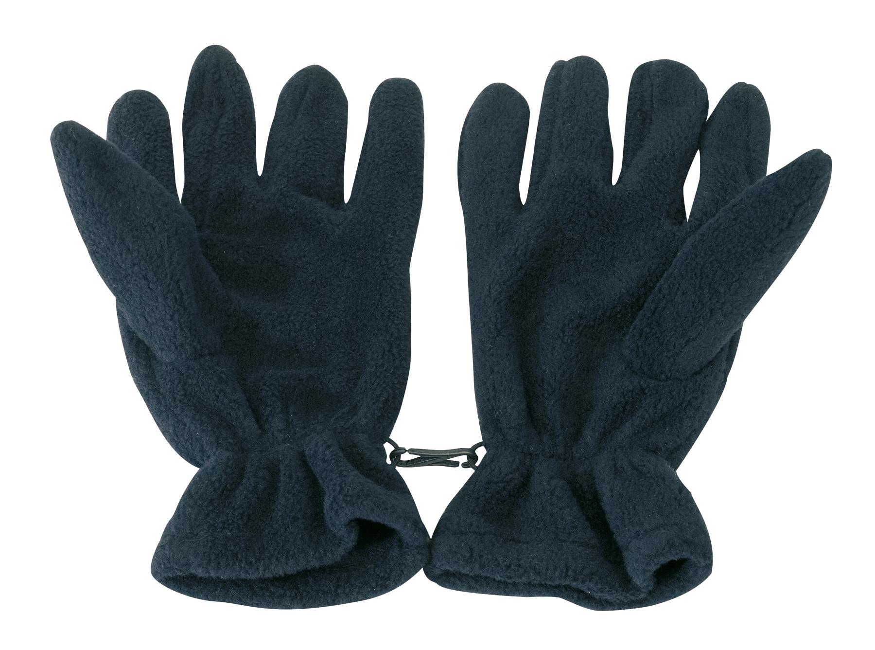 Rękawiczki z włókna polarowego ANTARTIC, granatowy